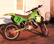Kawasaki dirt bike CRF 250