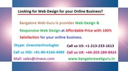 Web Design for Online Presense of your Business