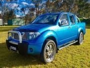 NISSAN NAVARA NISSAN NAVARA 2007 ST-X 4x4 Ute Auto Blue Dual Cab