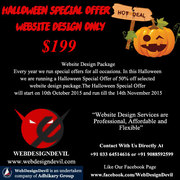 Website Design Halloween Offer For Your Business Online!