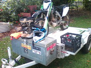 Crf Honda 2008 450 and trailer many extras $6500 ono